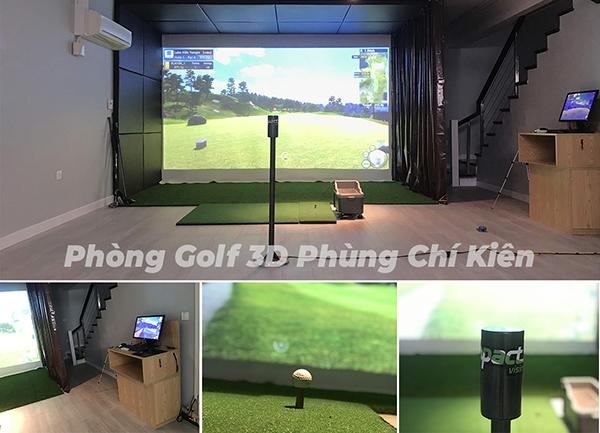 phòng golf 3d phùng chí kiên