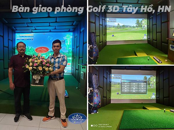 phòng tập golf 3d tây hồ, hn
