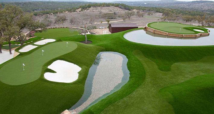 Một góc sân golf Đồng Mô