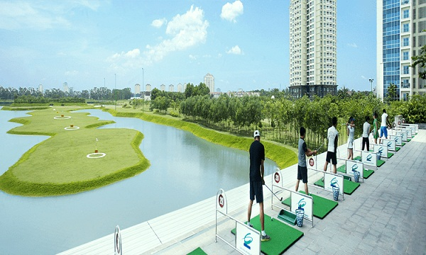 Sân tập golf Ciputra