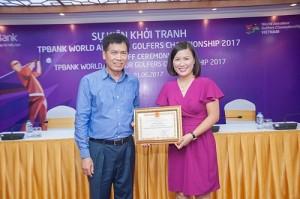 Phó tổng cục trưởng Tổng cục TDTT tham dự buổi họp báo về giải đấu tại Hà Nội trong sáng 1/6