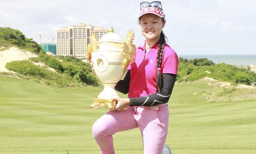 Hanako Kawasaki nhà vô địch Vietnam Junior Open 2017