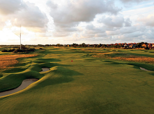 Sân golf nơi diễn ra giải British Open.
