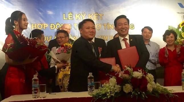 Lễ ký kết tài trợ tín dụng cho sân golf Kim Bảng Hà Nam