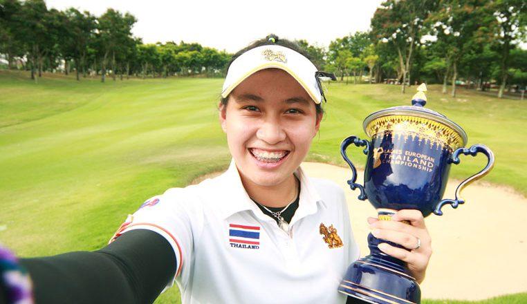 Nhà vô địch golf 14 tuổi Atthaya Thitikul