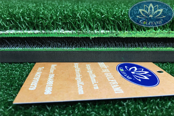 Thảm tập golf 3D đế cỏ xanh