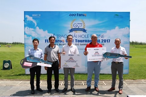 Trao giải Hole in One tại Faros Golf Tournament 2017