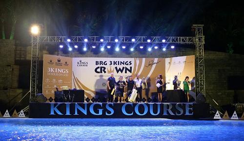 lễ trao giải tại BRG Three KIngs Crown