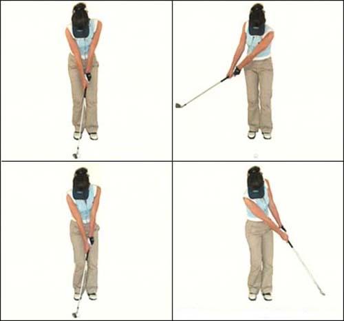 kỹ thuật chơi đánh golf cơ bản- cách cầm gậy