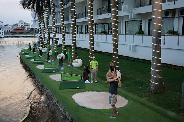 Địa chỉ tập golf ở Hà Nội