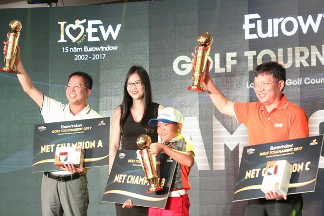 Giải Eurowindow Golf Tournament 2017 kết thúc