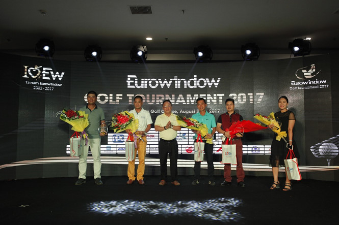Giải Eurowindow Golf Tournament 2017 kết thúc