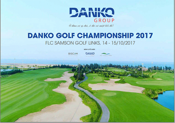 Giải golf lớn tháng 10: Danko Golf Championship 2017
