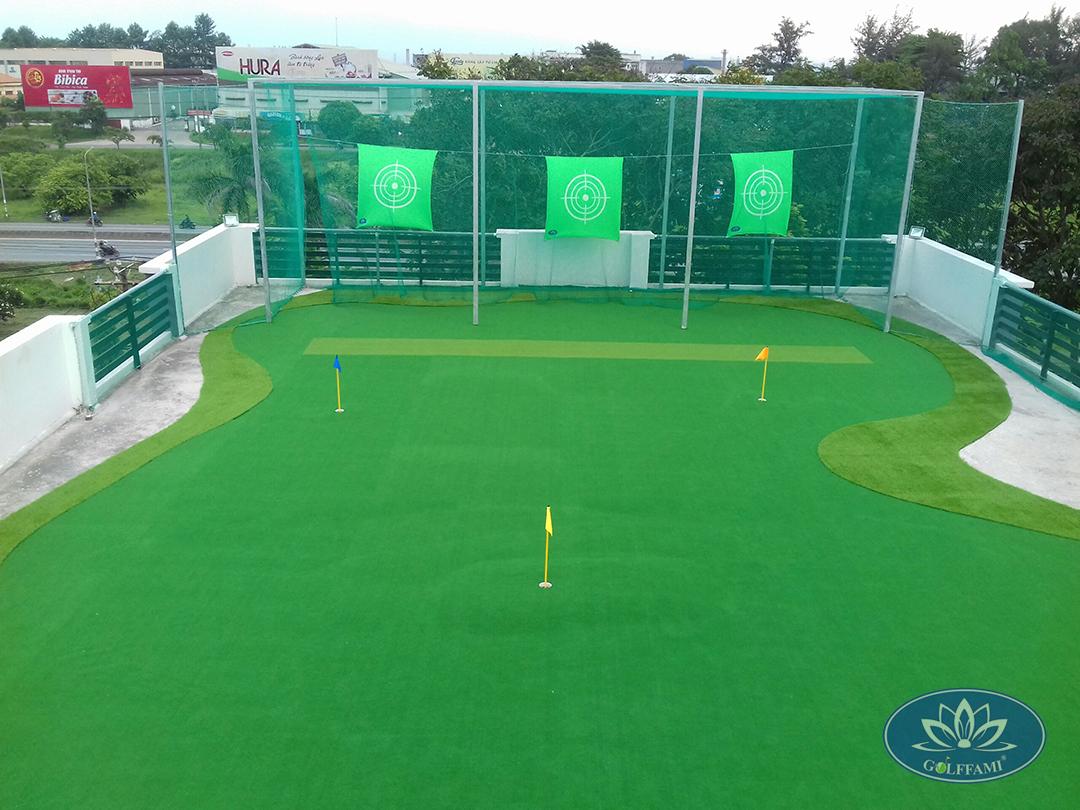 mini golf sân thượng
