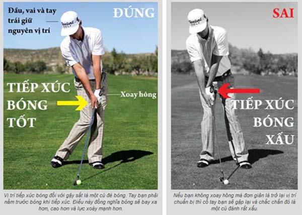 Tư thế học cách đánh gậy golf driver xa nhất cho người mới bắt đầu