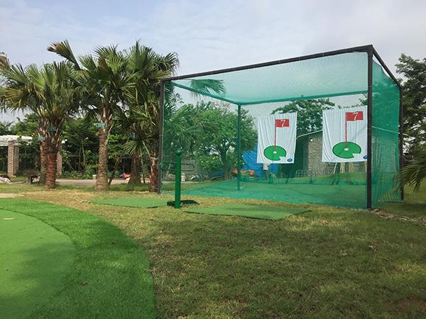 khung tập golf