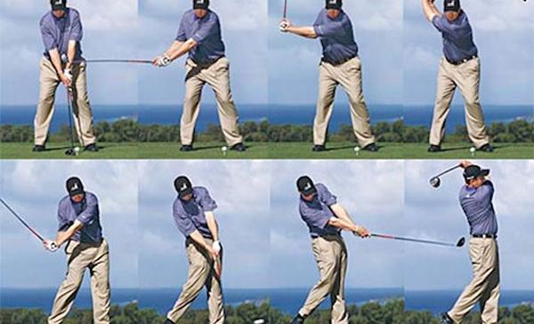 Cách vung gậy golf