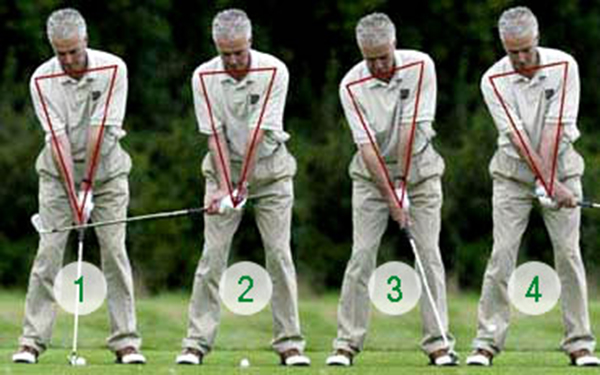 Kỹ thuật chơi golf cơ bản- cách cầm gậy golf