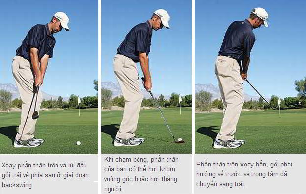 Cách chip golf hiểu quả khi lên sân