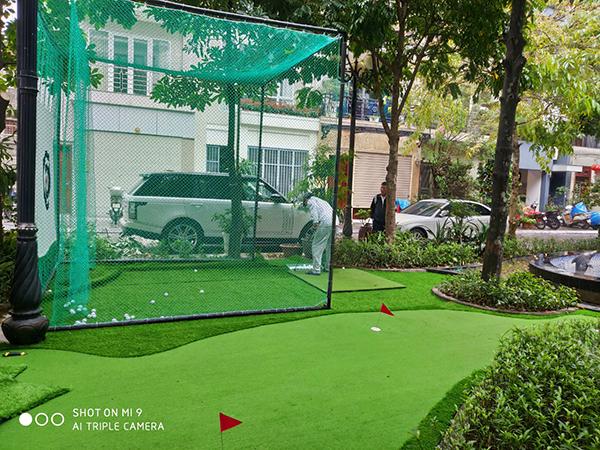mini golf tại nhà