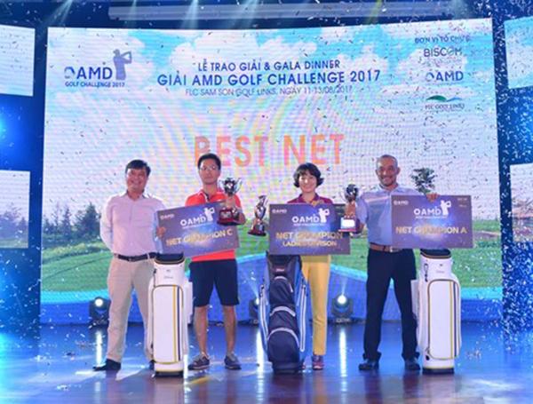 Lễ trao giải AMD Golf Challenge 2017