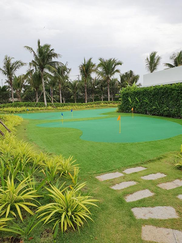 sân golf mini hồ tràm