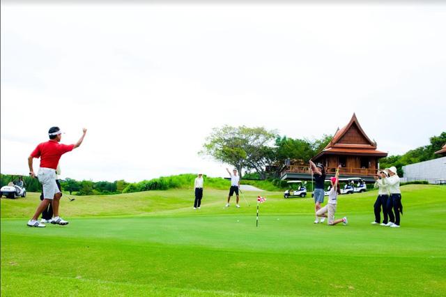 Thiên đường du lịch golf Thái lan