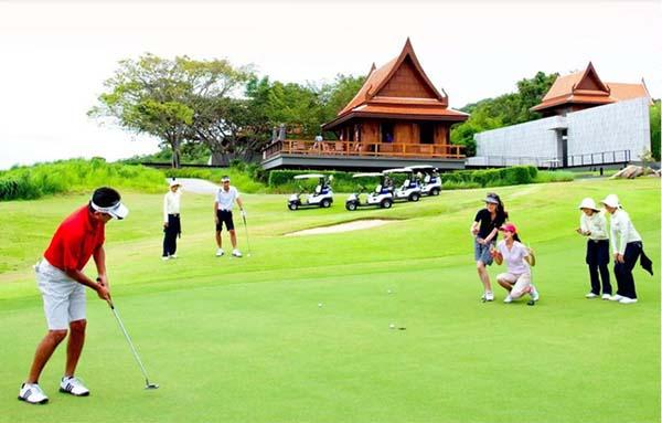 Những điểm đến của du lịch golf Thái lan