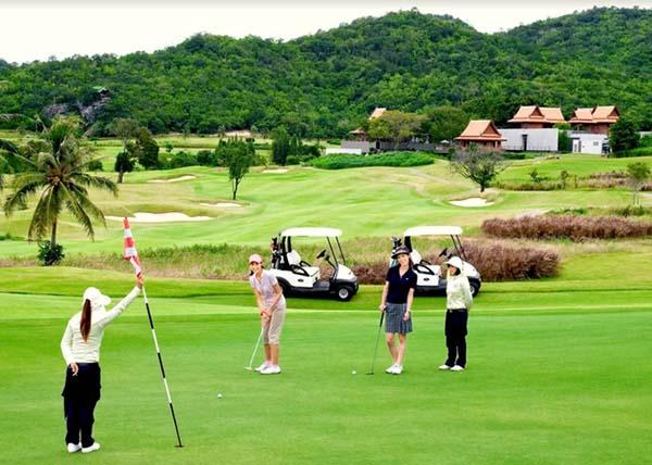 du lịch golf Thái lan đến hẹn lại lên