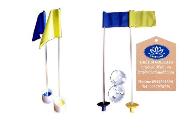 Bộ lỗ cờ golf nhựa trong nhà