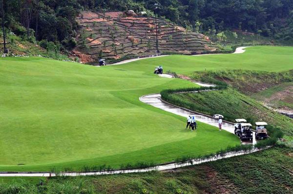 Một góc sân FLC Halong Golf Club