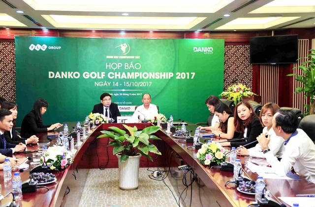 Họp báo tổ chức giải golf Danko Golf Championship 2017