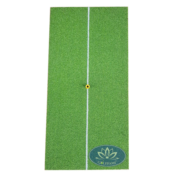 thảm golf swing mat Gomi05