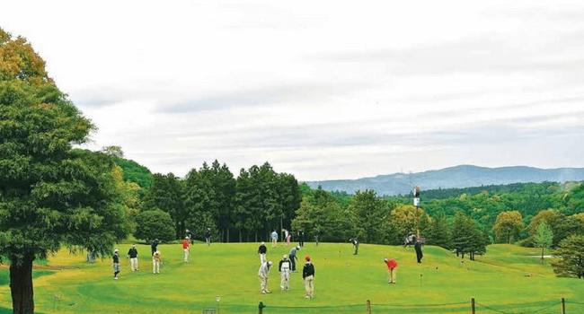 Chơi golf ở Nhật Bản thời kì hoàng kim