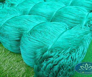 Lưới bóng đá HDPE trong kho của Golffami
