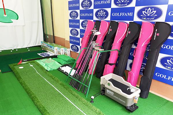 Các thiết bị golf trong combo khuyến mãi