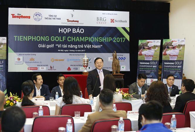 Họp báo tổ chức giải golf Tiền Phong championship