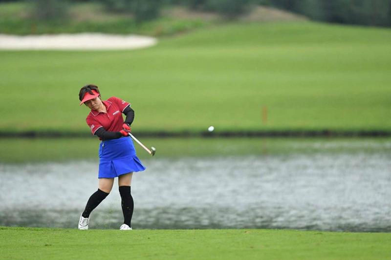 Người thân của các golfer nữ tham dự giải đấu cũng có cơ hội nhận được nhiều giải thưởng hấp dẫn.