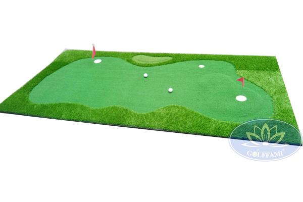 Thảm tập golf putting cao cấp Gomip29