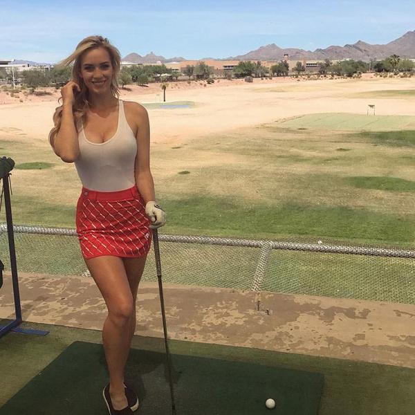 Nữ Golfer Paige Spiranac