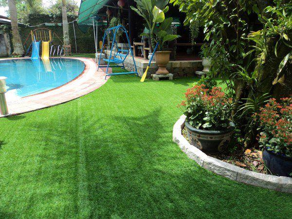 cỏ nhân tạo sân vườn giá rẻ Hà Nội