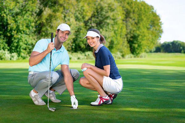 Trang phục trên sân golf