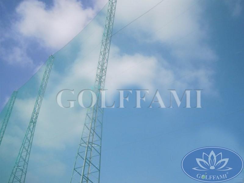 Golffami thi công lưới golf sân tập golf Lam Kinh