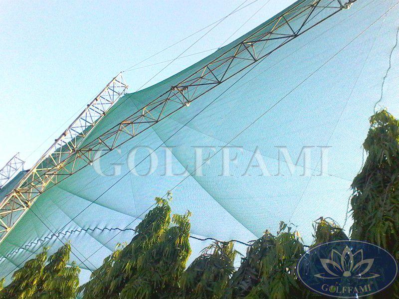Bảo dưỡng lưới sân tập golf Viettime