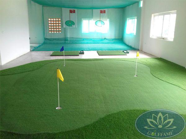 Cung cấp thiết bị golf và thi công lưới golf