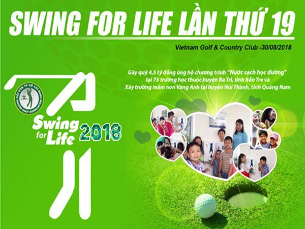 Giải golf từ thiện Swing for Life
