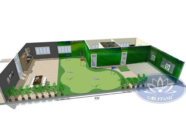 Bản thiết kế green golf tại Thanh Hóa
