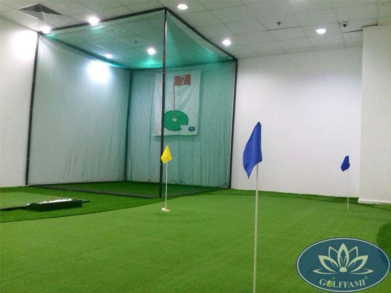 Golffami thi công Green golf mini tại TP HCM