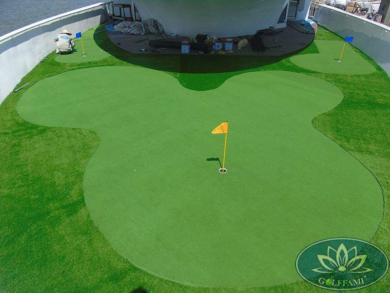 Thi công Green golf du thuyền Quảng Ninh