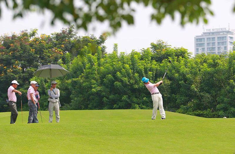 Giải golf của cộng đồng người Nam Định